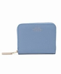SMYTHSON PANAMA zip coin purse 4CC (サックスブルー)