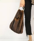 SIMONETTA RAVIZZA RING MINK BAG