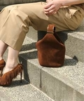 ◇BIENEN-DAVIS SUEDE HANDLE BAG