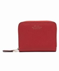 SMYTHSON PANAMA zip coin purse 4CC (レッド)