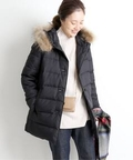 【TRADITIONAL WEATHERWEAR】 AVON Wファーフードダウンコート