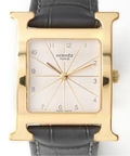 HERMES H Watch SV Guilloch GF LM