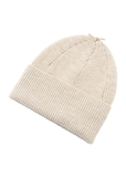 GF Leather Strap Knit cap オフ白