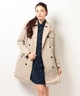 トミーヒルフィガー【TOMMY HILFIGER】 AS POLLY INSULATED TRENCH