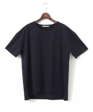 WORK NOT WORK CREW-NECK BIG T-SHIRTS WITH POCKET