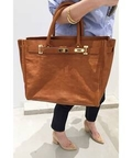 SITTA PARANTICA COW LEATHER TOTE BAG◆
