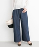 URBAN RESEARCH LUCDNM wide pants