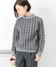 UNIFY big houndstooth knit