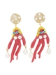 PAMEO POSE 【77th】Coral Girls Earring