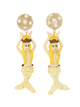 PAMEO POSE 【77th】Mermaid Earrings