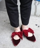 《予約》RIBBON FLAT SHOES◆