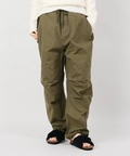 【chimala/チマラ】  CANVAS DRAWSTRING COVER PANTS