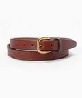 toryleather stitched belt