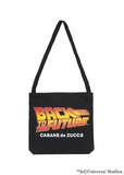 【SALE】ZUCCa × BACK TO THE FUTURE / S BTTF LOGO BAG / トートバック 黒