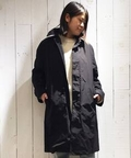 【ATON/エイトン】 AIR VENTILE BALMACAAN Coat:コート◆