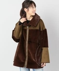 EARIH F/MOUTON BIG COAT