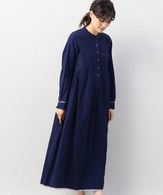 【injiri / インジリ】 H/N Side gather Dress