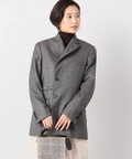 【TOGA / トーガ】WOOL JACKET WITH SCARF LINING:ジャケット
