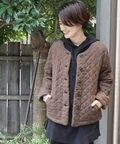 ☆【SOIL×Luxe】 WOOL SINGLE FLOWER QUILTED JACKET◆