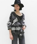 OBOK NATIVE KNIT CARDIGAN◆