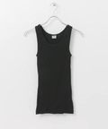 SBTRACT RIB STITCH TANK TOP(ROUND-NECK)