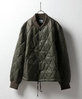 SKU QUILTED NYLON WARM UP BOMBER
