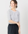 THE NEWHOUSE STRIPE HALF SLEEVE Tシャツ