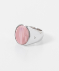 TOM WOOD Oval Pink Opal
