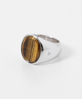 TOM WOOD Oval Tiger Eye