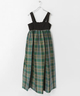 Scye CottonLinenPlaidS/Dress