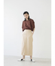 THIN BELT SKIRT