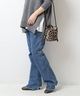 レディース 5 1/2 BEAUTY-LINE SLIT DENIM2…