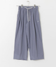 アニエスベー ボヤージュ【agnes b. Voyage】 DANSKIN YOGI CLOTH WIDE PANTS
