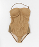 muller of yoshiokubo Raffia swimsuit