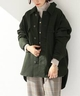 レディース 【INHERERNT】Over Shirt Jacke…