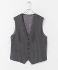 URBAN RESEARCH Tailor MARTINSON STRIPE VEST