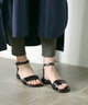 CORSO ROMA, 9 washed leather sandals